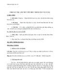 Giáo án Ngữ văn 10 tuần 6: Chọn sự việc, chi tiết tiêu biểu trong bài văn tự sự