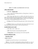 Giáo án Ngữ văn 10 tuần 7: Miêu tả và biểu cảm trong văn tự sự