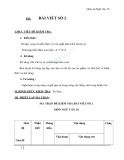 Giáo án Ngữ văn 10 tuần 8: Bài làm văn số 2