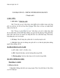 Giáo án Ngữ văn 10 tuần 8: Tam đại con gà - Nhưng nó phải bằng hai mày