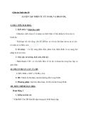 Giáo án Ngữ văn 10 tuần 15: Thực hành phép tu từ ẩn dụ và hoán dụ