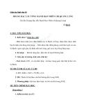 Giáo án Ngữ văn 10 tuần 15: Tại lầu  Hoàng Hạc tiễn Mạnh Hạo Nhiên đi Quảng Lăng
