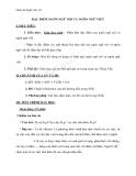 Giáo án Ngữ văn 10 tuần 9: Đặc điểm của ngôn ngữ nói và ngôn ngữ viết