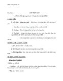 Giáo án Ngữ văn 10 tuần 10: Đọc thêm Lời tiễn dặn