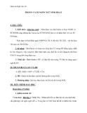 Giáo án Ngữ văn 10 tuần 12: Phong cách ngôn ngữ sinh hoạt