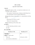 Giáo án tuần 8 bài Tập đọc: Bàn tay dịu dàng - Tiếng việt 2 - GV. Hoàng Quân