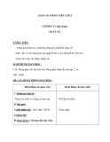 Giáo án bài Chính tả (Tập chép): Ngày lễ. c/k, l/n - Tiếng việt 2 - GV. T.Tú Linh