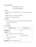Giáo án tuần 10 bài LTVC: Mở rộng vốn từ: từ ngữ về họ hàng - Tiếng việt 2 - GV. Hoàng Quân