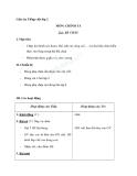 Giáo án tuần 11 bài Chính tả (Tập chép): Bà cháu. g/gh, s/x, ươn/ương - Tiếng việt 2 - GV. Hoàng Quân