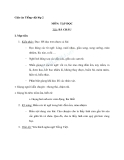 Giáo án tuần 11 bài Tập đọc: Bà cháu - Tiếng việt 2 - GV. Hoàng Quân