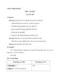 Giáo án tuần 11 bài Tập đọc: Đi chợ - Tiếng việt 2 - GV. Hoàng Quân