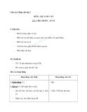 Giáo án tuần 11 bài Tập làm văn: Chia buồn, an ủi - Tiếng việt 2 - GV. Hoàng Quân