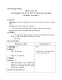 Giáo án tuần 13 bài LTVC: Mở rộng vốn từ: từ ngữ công việc gia đình - Tiếng việt 2 - GV. Hoàng Quân