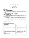 Giáo án bài Tập đọc: Quà của bố - Tiếng việt 2 - GV. T.Tú Linh