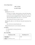 Giáo án tuần 12 bài Tập đọc: Điện thoại - Tiếng việt 2 - GV. Hoàng Quân