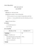 Giáo án tuần 12 bài Tập làm văn: Gọi điện - Tiếng việt 2 - GV. Hoàng Quân