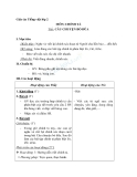 Giáo án tuần 14 bài Chính tả (Nghe viết): Câu chuyện bó đũa - Tiếng việt 2 - GV. Hoàng Quân