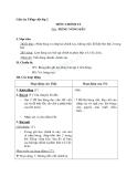 Giáo án tuần 14 bài Chính tả (Tập chép): Tiếng võng kêu. l/n, i/uê - Tiếng việt 2 - GV. Hoàng Quân