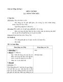 Giáo án tuần 14 bài Tập đọc: Tiếng võng kêu - Tiếng việt 2 - GV. Hoàng Quân