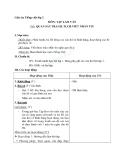 Giáo án tuần 14 bài Tập làm văn: Quan sát tranh, trả lời câu hỏi - Tiếng việt 2 - GV. Hoàng Quân