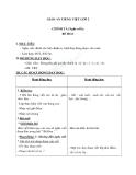 Giáo án bài Chính tả (Nghe viết): Bé Hoa. ai/ay, s/x, ât/ăc - Tiếng việt 2 - GV. T.Tú Linh
