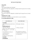 Giáo án Toán 5 chương 2 bài 2:  Trừ hai số thập phân