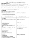 Giáo án Toán 5 chương 1 bài 10:  Ôn tập Bảng đơn vị đo khối lượng