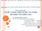Báo cáo môn Kĩ thuật chiếu sáng: Chiếu sáng dân dụng và công nghiệp với đèn LED