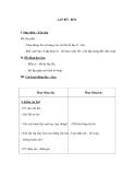 Giáo án Kỹ thuật 5 bài 19: Lắp rô-bốt