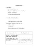 Giáo án Kỹ thuật 5 bài 13: Nuôi dưỡng gà