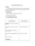 Giáo án Kỹ thuật 5 bài 15: Vệ sinh phòng bệnh cho gà