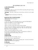 Giáo án Ngữ văn 12 tuần 33: Ôn tập phần làm văn