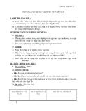 Giáo án Ngữ văn 12 tuần 11: Thực hành một số phép tu từ ngữ âm