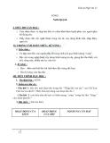 Giáo án Ngữ văn 12 tuần 13: Sóng