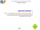 Bài giảng Lập trình Android: Bài 6 - Trung tâm tin học ĐH KHTN