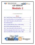 Giáo trình Lập trình iSO (Module 2) - Trung tâm tin học ĐH KHTN