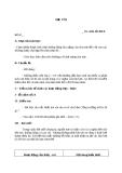 Giáo án bài 1: Cổng trường mở ra - Ngữ văn 7  - GV.T.T.Chi