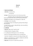 Bài 3: Những câu hát về tình yêu quê hương, đất nước, con người - Giáo án Ngữ văn 7 - GV: Lê Thị Hạnh