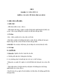 Bài 3: Ca dao, dân ca: Những câu hát về tình cảm gia đình - Giáo án Ngữ văn 7 - GV: Lê Thị Hạnh