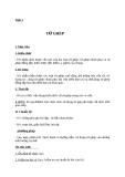 Bài 1: Mẹ tôi - Giáo án Ngữ văn 7 - GV: Lê Thị Hạnh