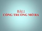 Bài giảng Ngữ văn 7 bài Cổng trường mở ra  - GV: Nguyễn Kim Loan