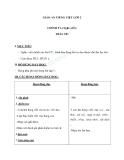 Giáo án Tiếng Việt 2 tuần 16 bài: Chính tả - Nghe - viết: Trâu ơi. Phân biệt ao/au, tr/ch, dấu hỏi/dấu ngã