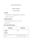 Giáo án bài Chính tả (Tập chép): Gà tỉ tê với gà. ao/au - Tiếng việt 2 - GV. T.Tú Linh