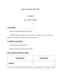 Giáo án bài Tập đọc: Gà tỉ tê với gà - Tiếng việt 2 - GV. T.Tú Linh
