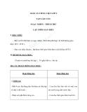 Giáo án bài Tập làm văn: Ngạc nhiên, thích thú - Tiếng việt 2 - GV. T.Tú Linh