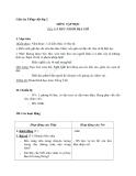 Giáo án tuần 19 bài Tập đọc: Lá thư nhầm địa chỉ - Tiếng việt 2 - GV. Hoàng Quân