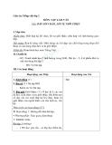 Giáo án tuần 19 bài Tập làm văn: Đáp lời chào, lời tự giới thiệu - Tiếng việt 2 - GV. Hoàng Quân
