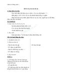 Giáo án Tiếng Việt 1 bài 6: be bè bé bẻ bẽ bẹ
