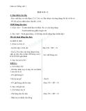 Giáo án Tiếng Việt 1 bài 9: Âm O, C