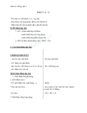 Giáo án Tiếng Việt 1 bài 17: Âm U, Ư